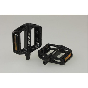 Flat pedals, loose bearings fixed pins 9/16