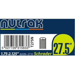"""27.5"""" or 650B x 1.75 - 2.125 Schrader inner tube"""