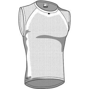 Isoler mesh men's sleeveless baselayer