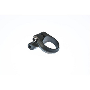 Seat clamp with rack mount black