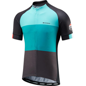 Sportive half-zip men's short sleeve jersey