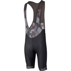 RoadRace Apex men's bib shorts, hex camo