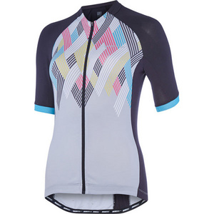 Sportive women's short sleeve jersey, crosshatch