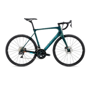 WHYTE Wessex Di2 58 Forest Green with Reef/Orange/Sky