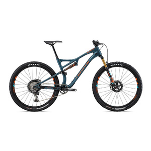 WHYTE S-120C WORKS SMALL Matt Petrol with Orange/Reef/Grey