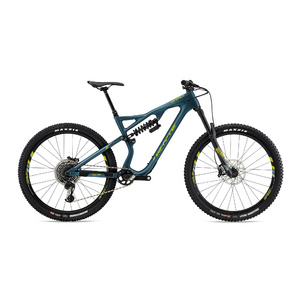 WHYTE G-170C WORKS 29er SMALL Matt Petrol with Lime/Mist/Grey