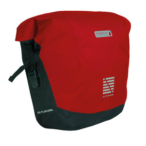 Altura Arc 15 Roll Top Pannier Red