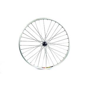 Wilkinson Wheels 24X1.75 Front Wheel MTB Solid Axle Alloy Hub Silver