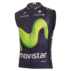 Endura Movistar Team Gilet 2016