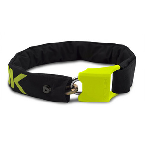 Hiplok V1.5 Wearable Chain Lock 8mm x 90cm - waist 24-44 inches (Silver Sold Secure) Lime
