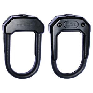 Hiplok DX D Lock 14mm x 15 x 8.5cm Hardened Steel (Gold Sold Secure) Black