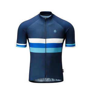 Chapeau! Mens Club Jersey Stripe  Deep Ocean XXL