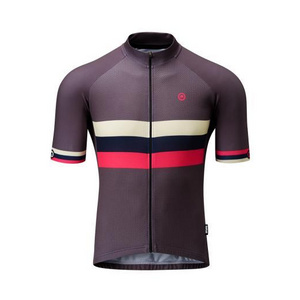 Chapeau! Mens Club Jersey Stripe  Flint Grey Small