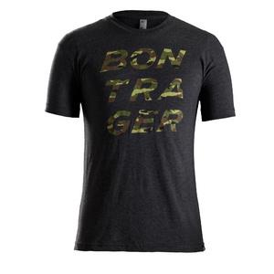 Bontrager Camo Stacked Logo T-Shirt