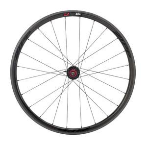 Zipp 202 Firecrest Carbon Clincher Rear Wheel 24 spokes 10/11 Speed SRAM Cassette Body Black Decal