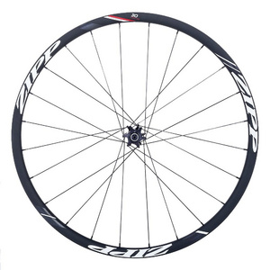 Zipp 30 Course Clincher Tubeless Ready Disc Brake Front (Qr12Mm & 15Mm Through Axle Caps)