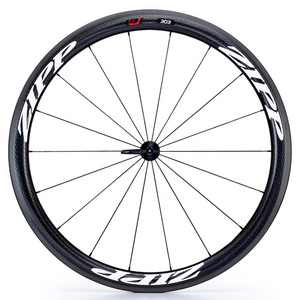 Zipp 303 Firecrest Carbon Clincher 77 Front 18 Spokes (White Decal)