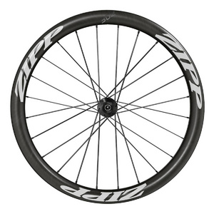 Zipp 302 Carbon Clincher Disc Brake V1 Rear Campagnolo 10/11Speed White Decal, Convert Incl- Quick Release & 12X142Mm Through Axle Caps