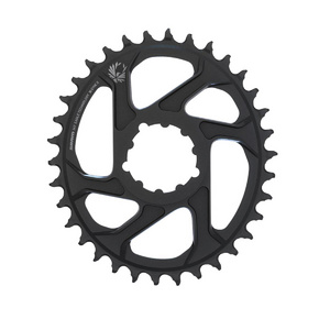 Sram Chain Ring X-Sync 2 Oval 34T Direct Mount 6Mm Offset Alum Eagle Black
