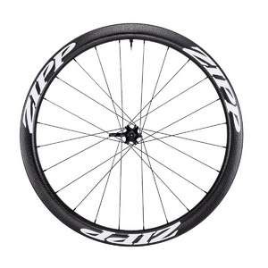 ZIPP 303 CARBON CLINCHER TUBELESS DISC BRAKE 77D FRONT 24 SPOKES CONVERTIBLE INCLUDES- QUICK RELEASE 12MM & 15MM THROUGH AXLE CAPS