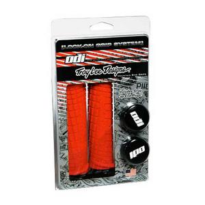 Troylee ODI Lock On Mountain Bike Grips Red/Black