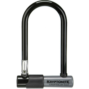 Kryptonite Kryptolok Series 2 Mini U-Lock With Bracket