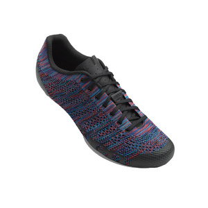 GIRO EMPIRE E70 KNIT ROAD CYCLING SHOES 2019: GREY HEATHER/HIGHLIGHT YELLOW 47