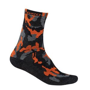 Giro Merino Winter Cycling Socks Black/Red