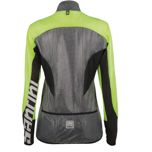 Santini Velo Pidigi Sunrise Lightweight Women'S Windbreaker Jacket