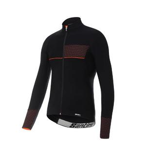 Santini Vega 2.0 Aquazero Long Sleeve Thermofleece Jersey