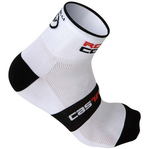 Castelli Rosso Corsa 6 Socks 7072 - White