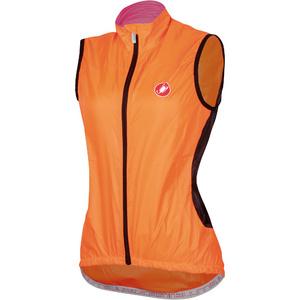 Castelli Velo W Vest - Orange Fluo