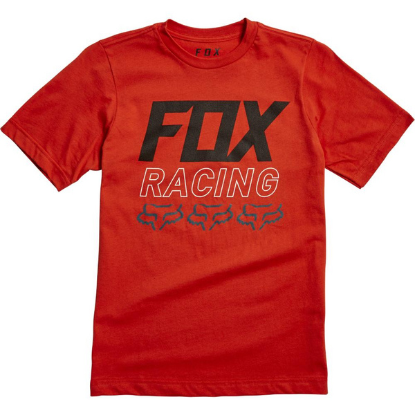 Fox Youth Overdrive Ss Tee [Atmc Org]