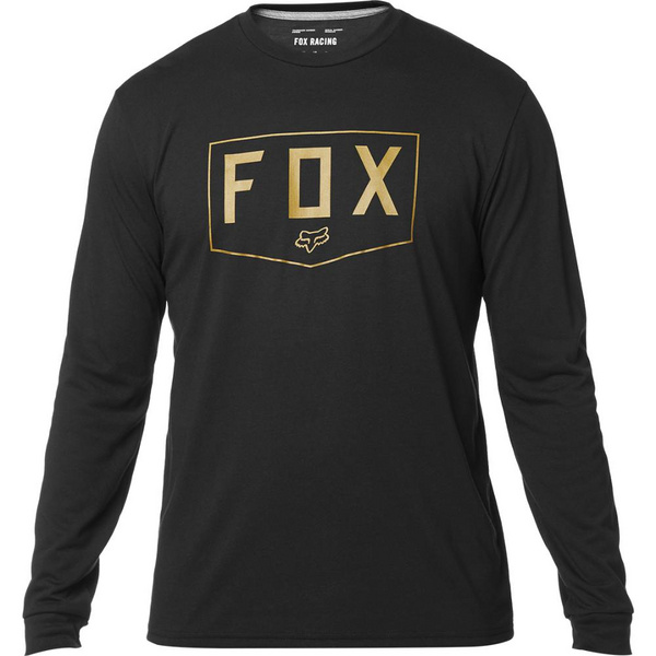 Fox Shield Ls Tech Tee [Blk]