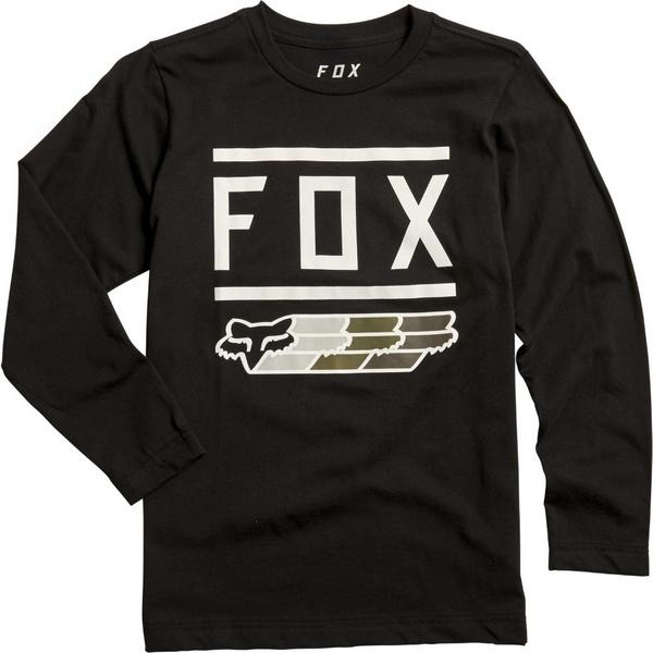 Fox Youth Fox Super Ls Tee [Blk]