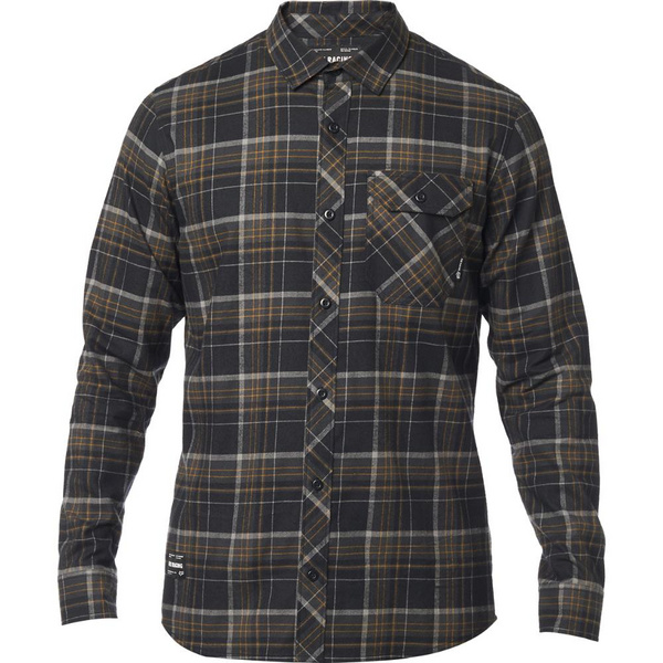 Fox Gamut Stretch Flannel [Blk]