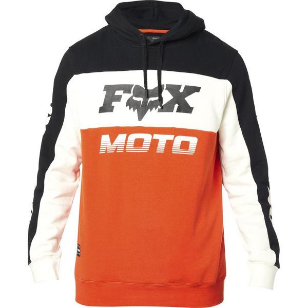 Fox Charger Pullover Fleece [Blk/Org]