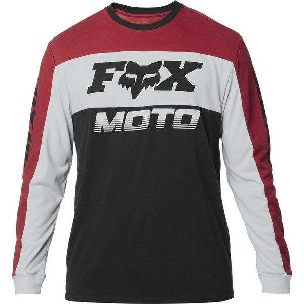 Fox Charger Ls Airline Knit [Blk/Rd]