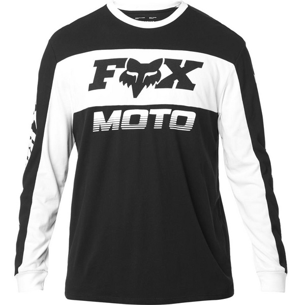 Fox Charger Ls Airline Knit [Blk/Wht]