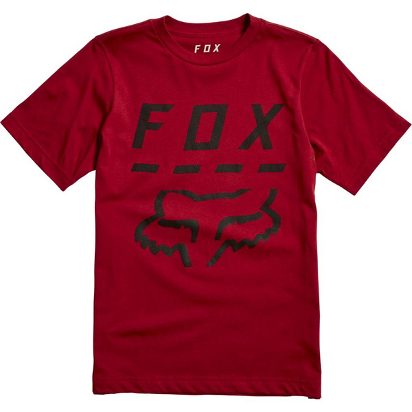 Fox Youth Highway Ss Tee [Crdnl]