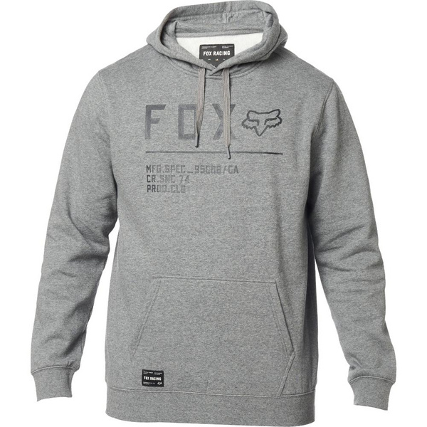 Fox Non Stop Pullover Fleece [Htr Graph]