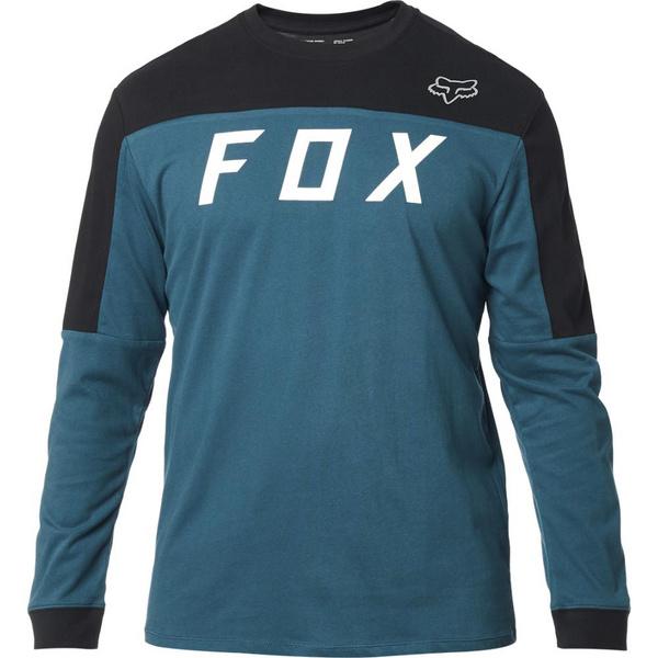 Fox Grizzled Ls Airline Knit [M Blu]