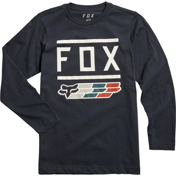 Fox Youth Fox Super Ls Tee [Mdnt]