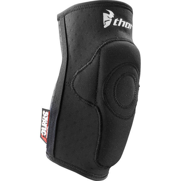 Static elbow guards black small / medium