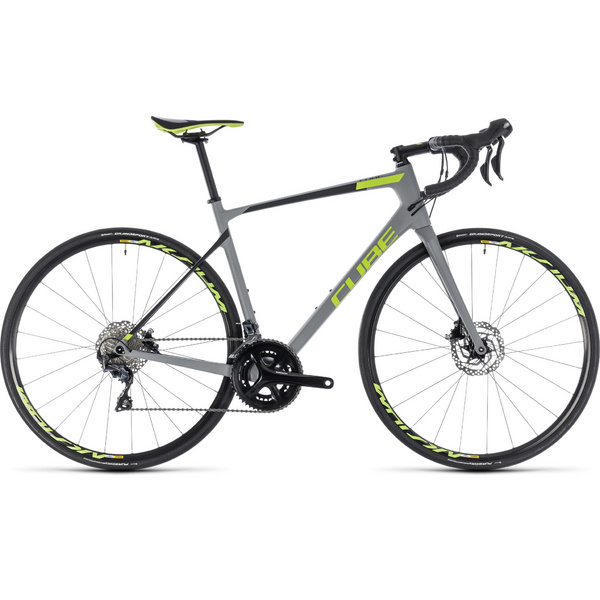 Cube Attain Gtc Race Disc Grey/Green 2018