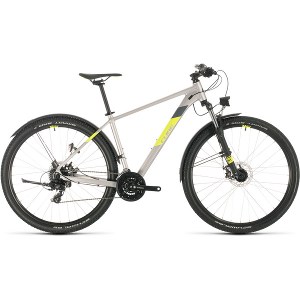 Cube Aim Allroad Silver/Flashyellow 2020
