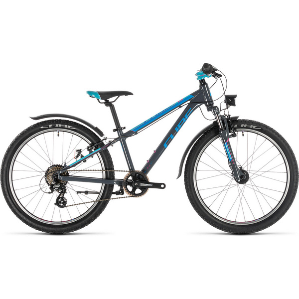 Cube Access 240 Allroad Grey/Blue/Pink 2020