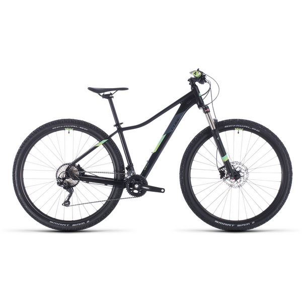 Cube Access Ws Race Black/Green 2020