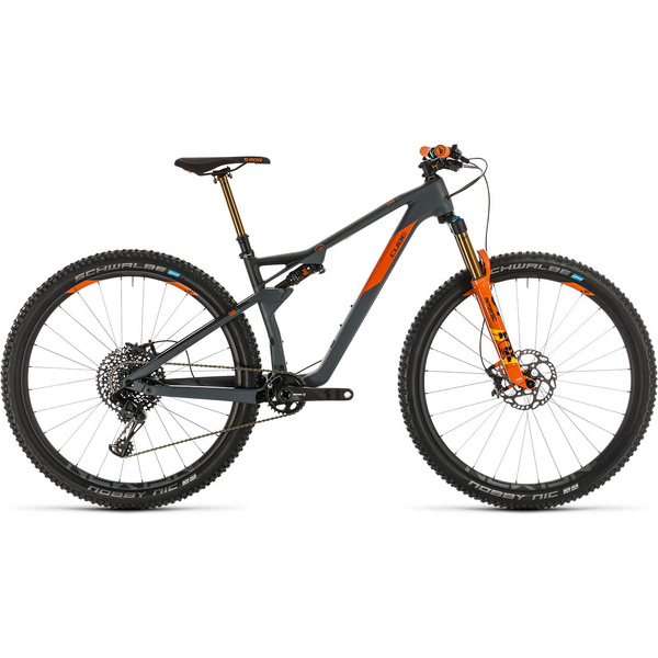Cube Ams 100 C:68 Tm Grey/Orange 2020