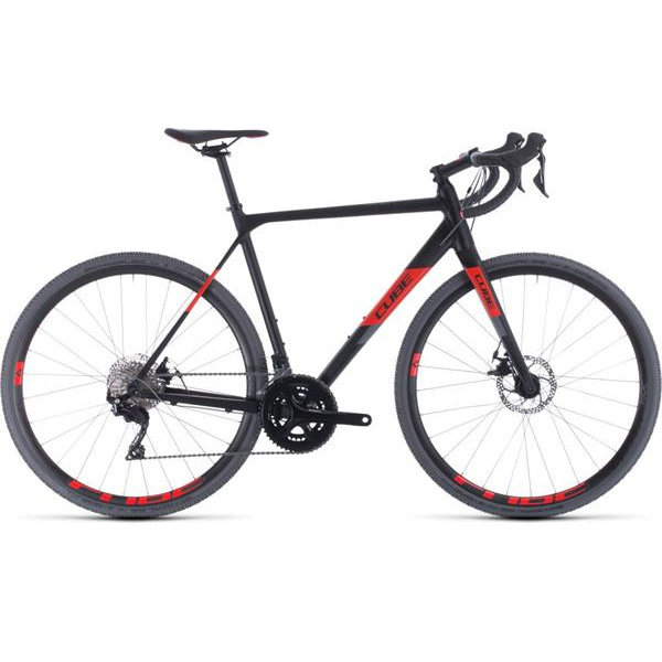 Cube Cross Race Black/Red 2020